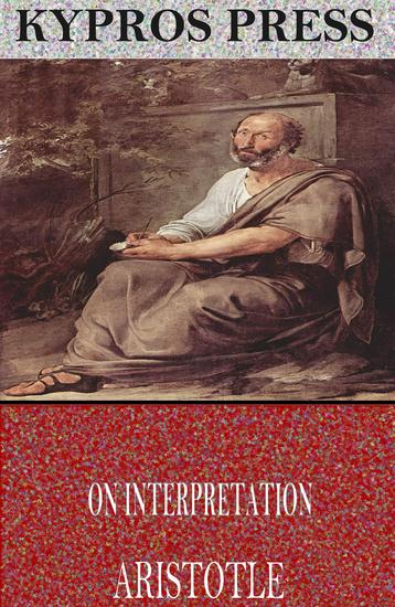 On Interpretation - cover