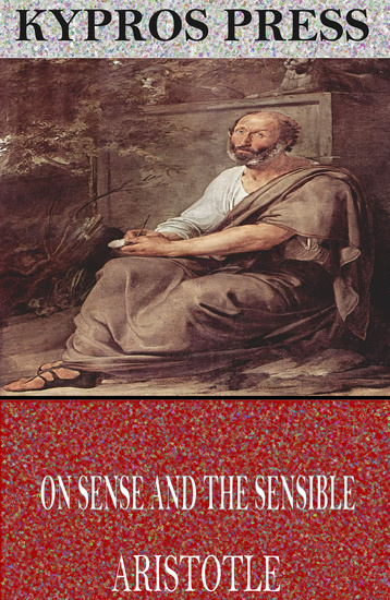 On Sense and the Sensible - cover