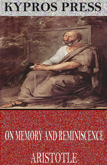 On Memory and Reminiscence - cover