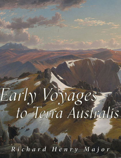 Early Voyages to Terra Australis - cover