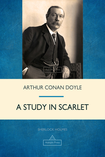 A Study in Scarlet - cover