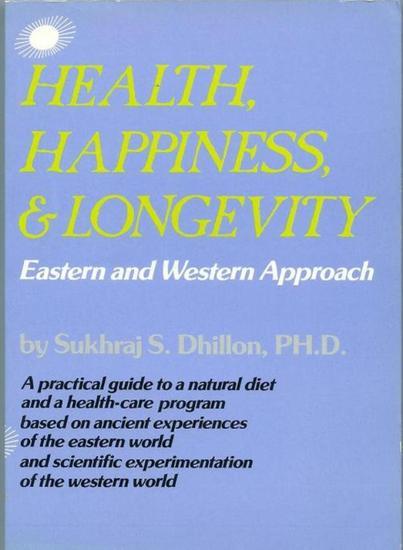 Health Happiness and Longevity - Health & Spiritual Series - cover