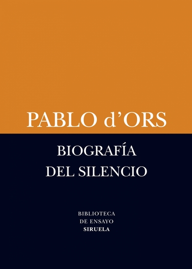 Biografía del silencio - Breve ensayo sobre meditación - cover