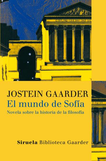 El mundo de Sofía - Novela sobre la historia de la filosofía - cover