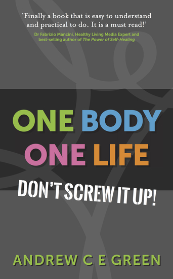 One Body One Life - Don't Screw It Up! - cover