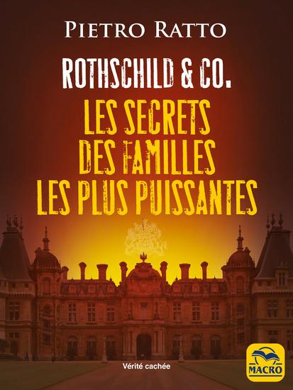 ROTHSCHILD & CO - Les secrets des familles les plus puissantes - cover