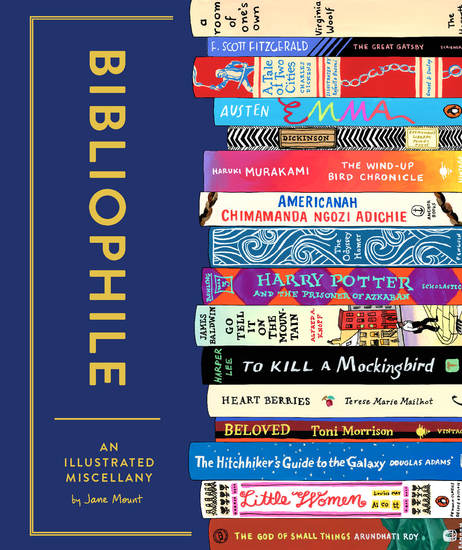 Bibliophile - An Illustrated Miscellany - cover