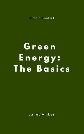 Green Energy: The Basics - cover
