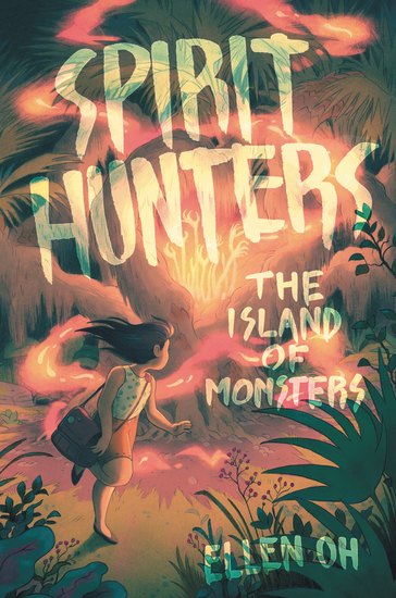 Spirit Hunters #2: The Island of Monsters - cover