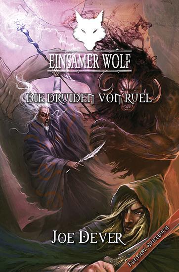 Einsamer Wolf 13 - Die Druiden von Ruel - cover