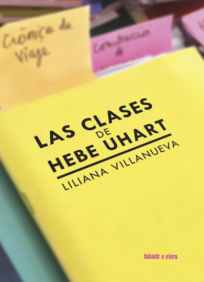 Las clases de Hebe Uhart - cover