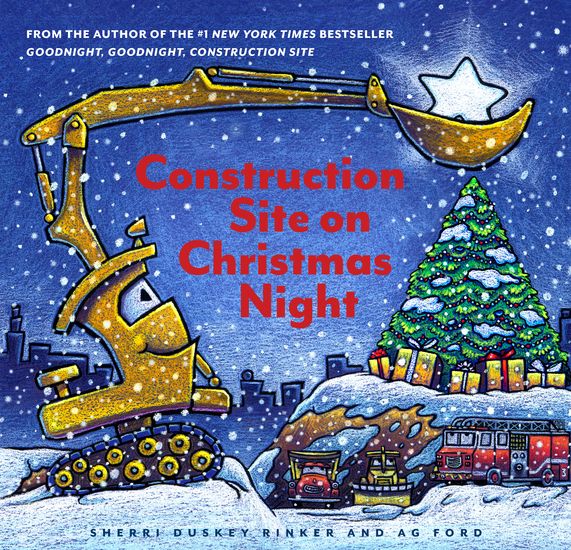 Construction Site on Christmas Night - cover
