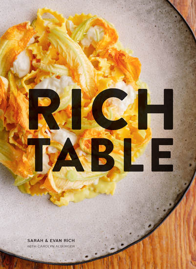 Rich Table - A Cookbook for Making Beautiful Meals at Home - cover