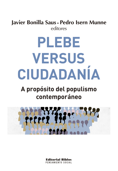 Plebe versus ciudadanía - A propósito del populismo contemporáneo - cover