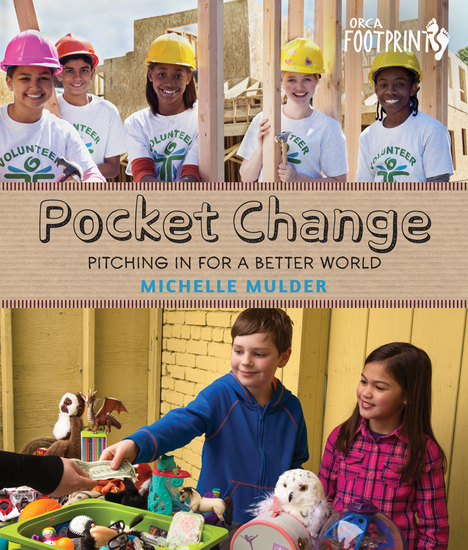 Pocket Change - Pitching In for a Better World - cover