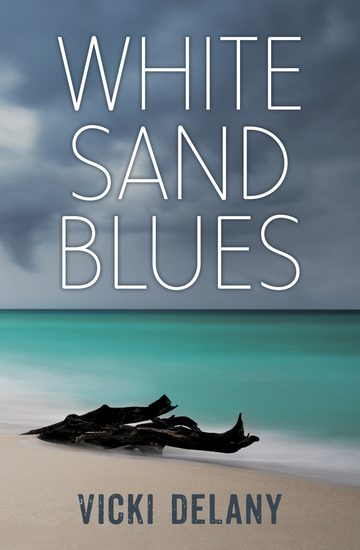 White Sand Blues - An Ashley Grant Mystery - cover