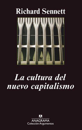 La cultura del nuevo capitalismo - cover
