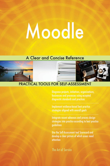 Moodle A Clear and Concise Reference - cover