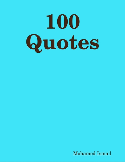100 Quotes - cover