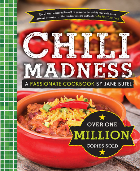 Jane Butel's Chili Madness - A Passionate Cookbook - cover