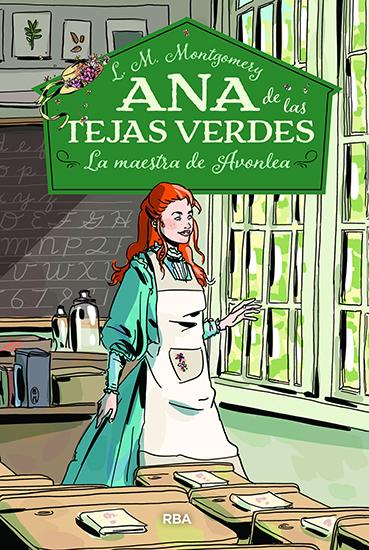 La maestra de Avonlea - Ana de las tejas verdes 3 - cover