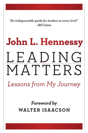 Leading Matters - Lessons from My Journey - cover