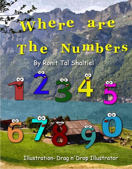 Where are the Numbers? - The Adventures of the Numbers #1 - cover