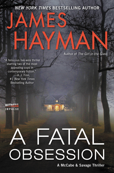 A Fatal Obsession - A McCabe and Savage Thriller - cover