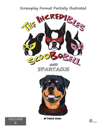 The Incredibles Scoobobell and Spartacus - 2 #2 - cover