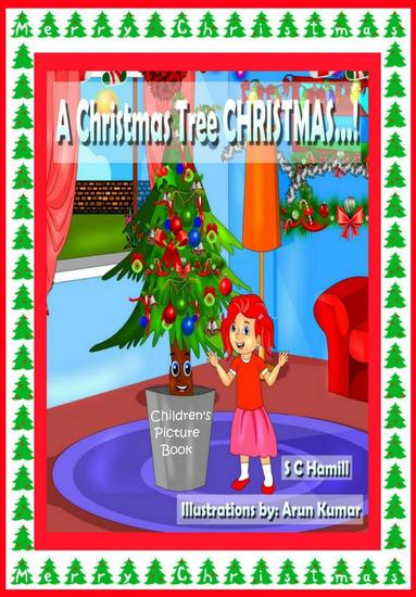 A Christmas Tree Christmas Children's Picture Book - cover