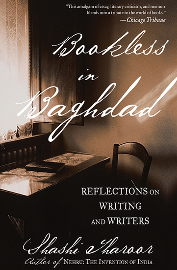 Bookless in Baghdad - Reflections on Writing and Writers - cover
