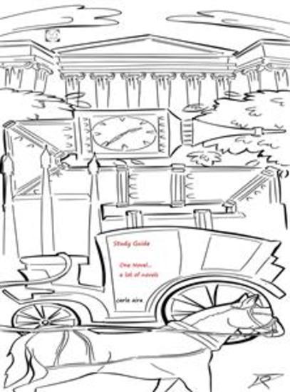 One novela lot of Novels - brief history of the novel in English language - cover