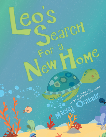 Leo's Search for a New Home - cover