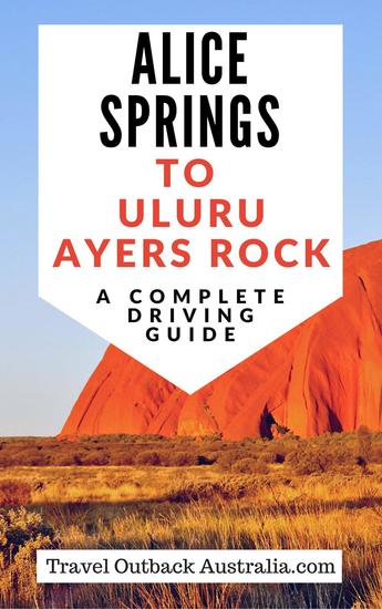Alice Springs to Uluru Ayers Rock Driving Guide - cover