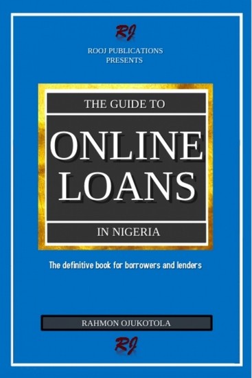The guide to online loans in Nigeria - cover
