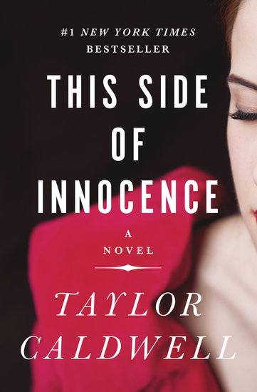 This Side of Innocence - A Novel - cover