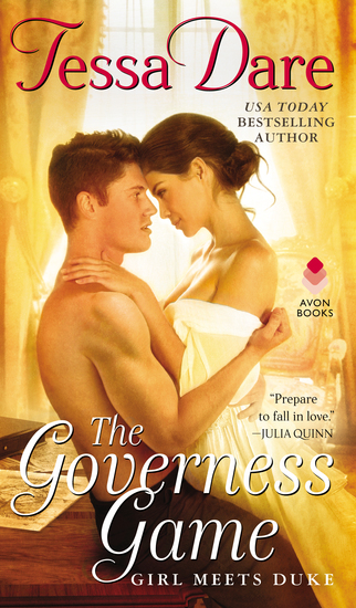 The Governess Game - Girl Meets Duke - cover