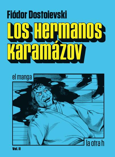 Los hermanos Karamázov (vol2) - el manga - cover