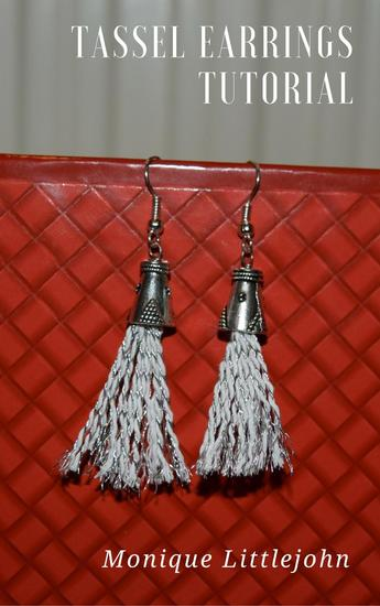 How to Make Tassel Earrings - cover