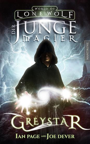 Greystar 01 - Der junge Magier - Ein Fantasy-Spielbuch in der Welt des Einsamen Wolf - cover