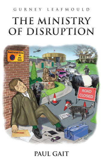 Gurney Leafmould - The Ministry of Disruption - cover