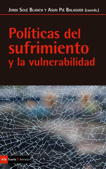 Políticas del sufrimiento y la vulnerabilidad - cover