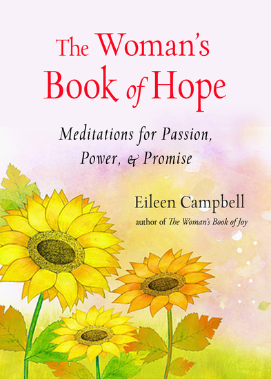The Woman's Book of Hope - Meditations for Passion Power & Promise - cover