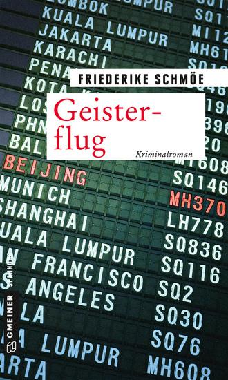 Geisterflug - Kriminalroman - cover