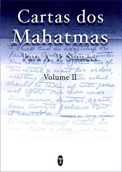 Cartas dos Mahatmas para AP Sinnett Vol II - cover