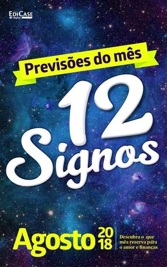 Previsões do Mês Ed 02 - 12 Signos - 12 Signos - Agosto 2018 - cover