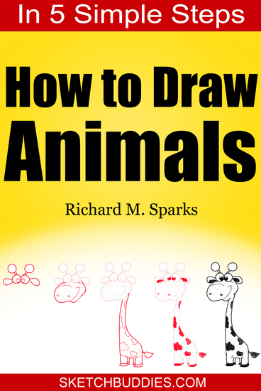 How to Draw Animals in 5 Simple Steps - Drawing Animals for Kids and Beginners - cover
