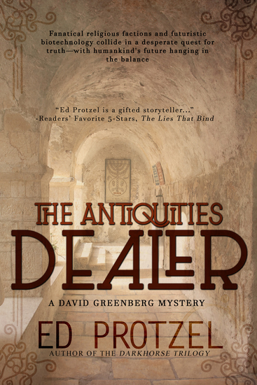 The Antiquities Dealer - cover