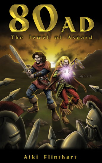 80AD The Jewel of Asgard (Bk1) - cover