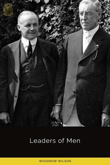Leaders of Men - cover